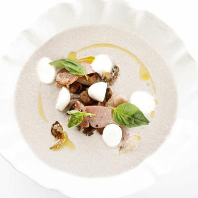 рецепт грибной суп пюре белый гриб