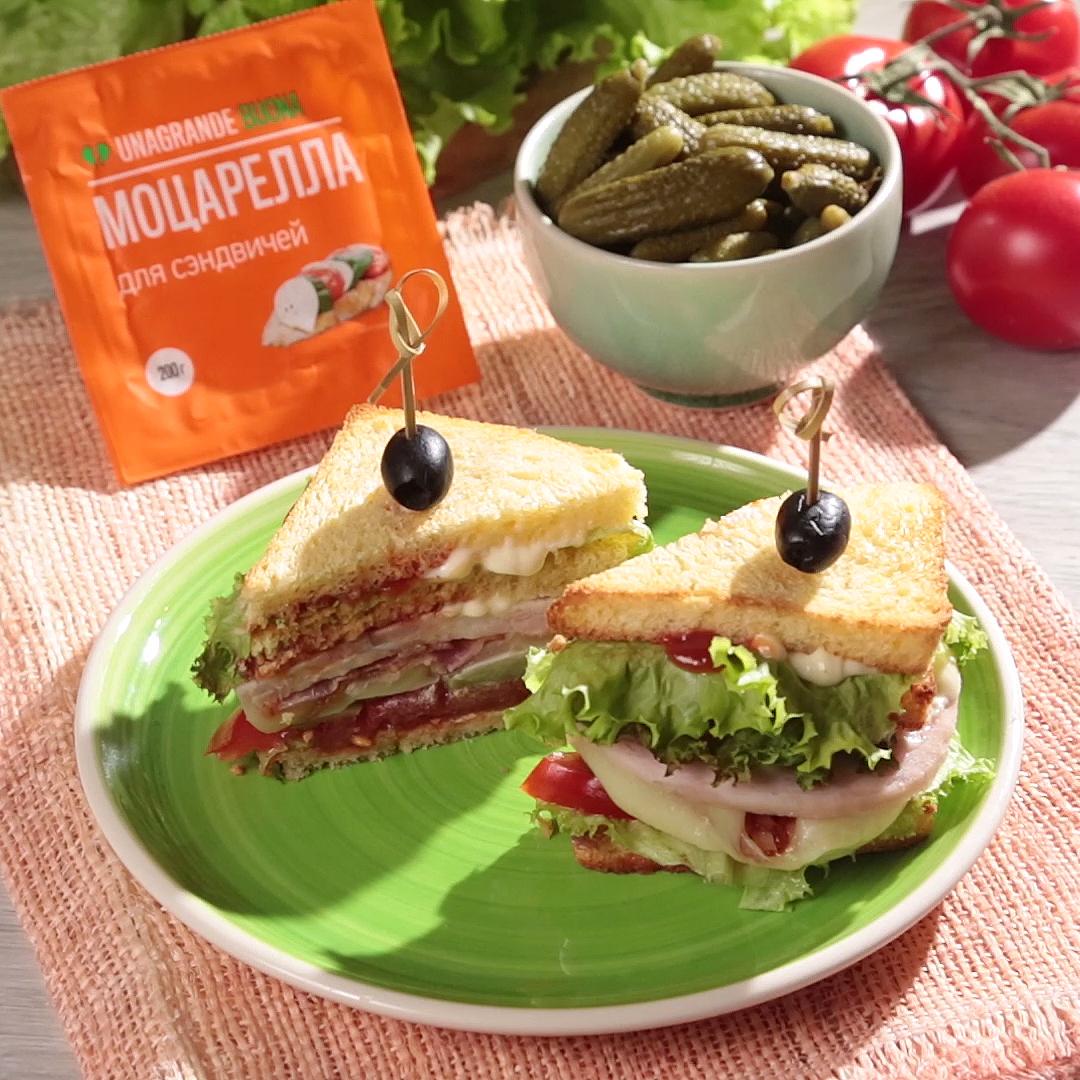 Рецепт простого Американского сэндвича