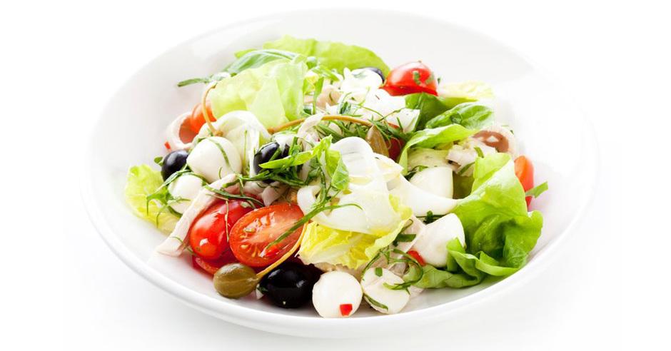 Италия салаты с