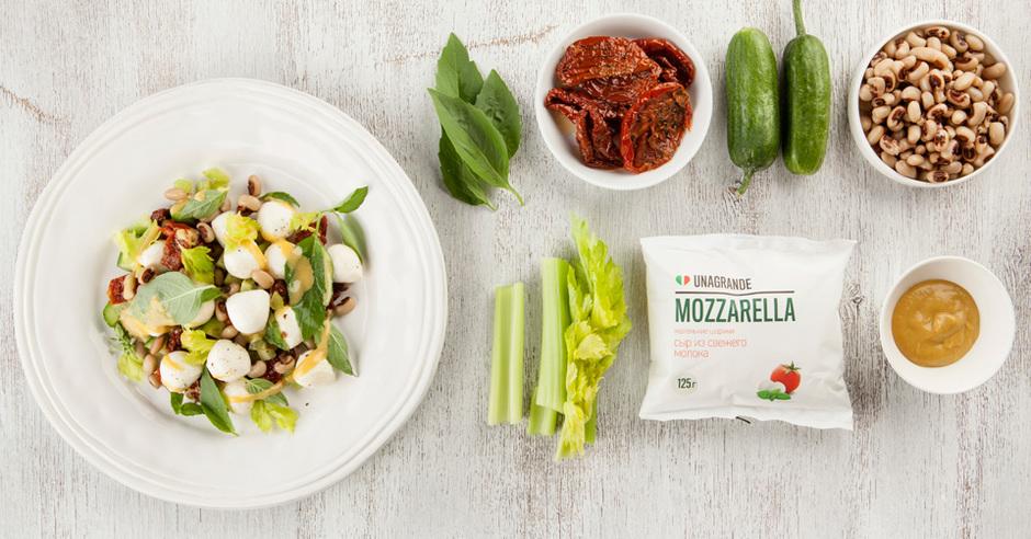 салат из баклажанов и фасоли рецепт